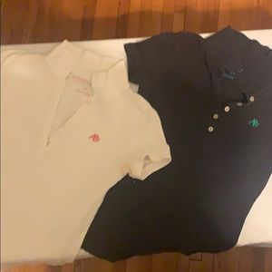 (2) Aeropostale Polo Collar Short Sleeve T-shirt